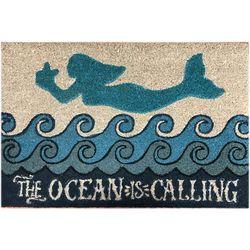 JD Yeatts Mermaid Coir Mat