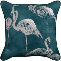 Arden Companies Flamingo Outdoor Decorative Pillow