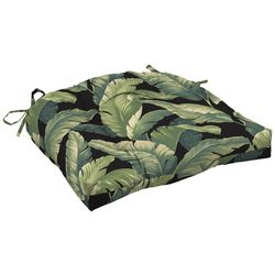 Arden Companies Onyx Cebu Tufted Outdoor Seat Cushion