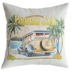 Panama Jack No Problems Throw Pillow