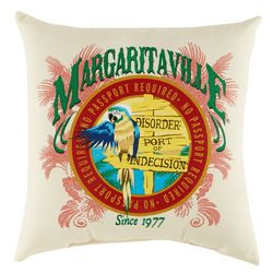 Margaritaville Port Indecision Outdoor Pillow