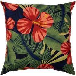 Brentwood Lanai Hibiscus Outdoor Pillow