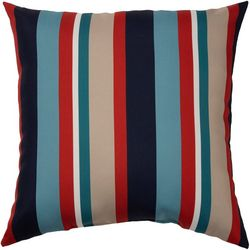 Brentwood Lake Stripe Outdoor Pillow