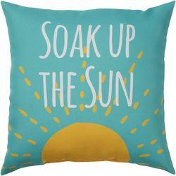 Brentwood Soak Up The Sun Outdoor Pillow
