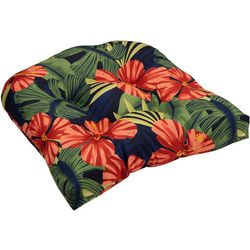 Brentwood Lanai Hibiscus Wicker Chair Cushion