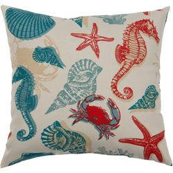 Brentwood Seahorse Outdoor Pillow