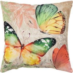 Brentwood Butterfly Outdoor Decorative Pillow
