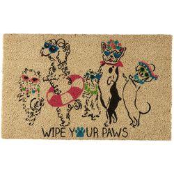 Tropix Wipe Your Paws Coir Door Mat