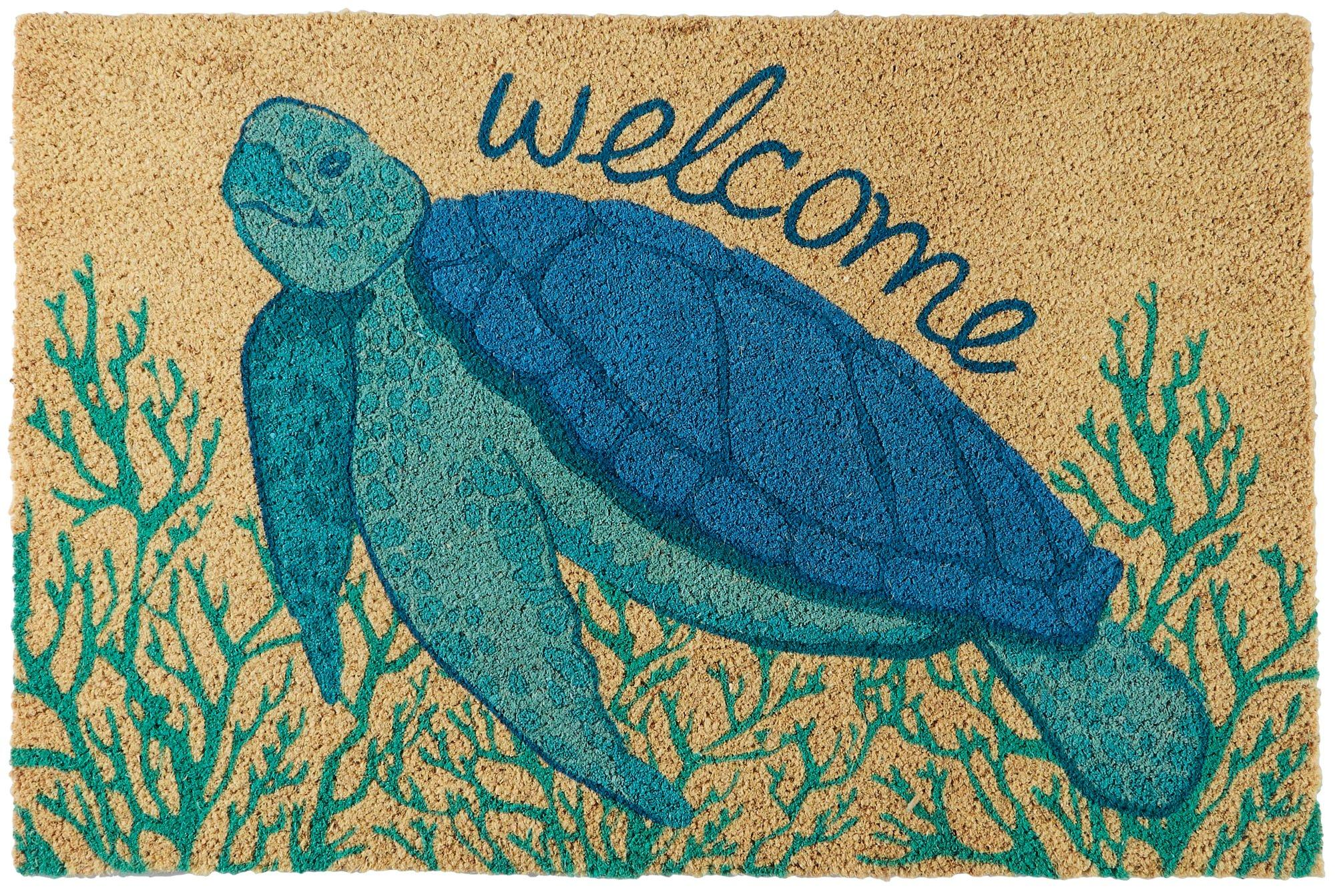 Home Garden Rugs Carpets Mermaids Welcome Coir Door Mat