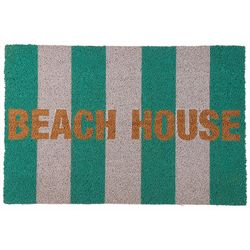 Tackle & Tides Striped Beach House Coir Door Mat
