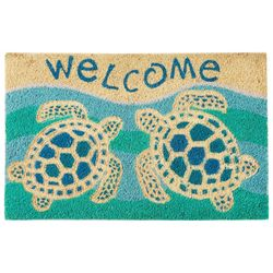 Tropix Welcome Turtles Coir Mat