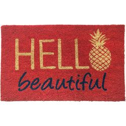 Tropix Hello Beautiful Coir Mat