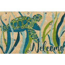 Tropix Sea Turtle Coir Outdoor Mat