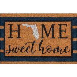 Tropix Florida Home Sweet Home Coir Outdoor Mat