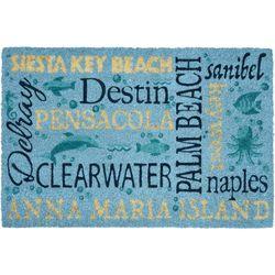 Tropix Destination Beach Coir Outdoor Mat