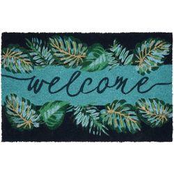 Tropix Welcome Palms Coir Outdoor Mat