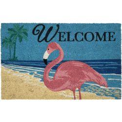 Tropix Flamingo Beach Coir Outdoor Mat