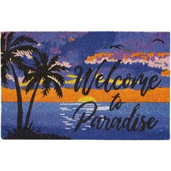 Nourison Welcome To Paradise Coir Outdoor Mat