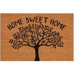 Casabella Home Sweet Home Tree Coir Outdoor Mat