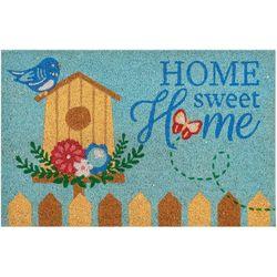 Casabella Home Sweet Home Birds Coir Outdoor Mat