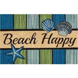 Nourison Beach Happy Coir Mat