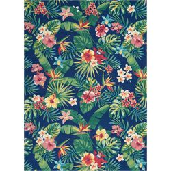 Nourison Tropical Floral Area Rug