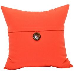 Newport Single Button Outdoor Decorative Pillow