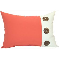 Newport 3 Button Outdoor Decorative Pillow