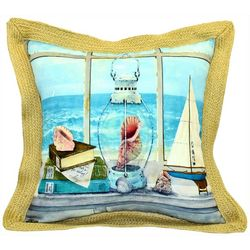 Newport Picturesque Outdoor Decorative Pillow