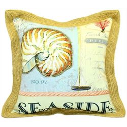 Newport Seaside Outdoor Decorative Pillow