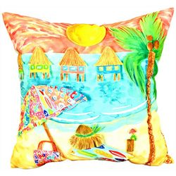 Newport Lazy Umbrella Outdoor Decorative Pillow