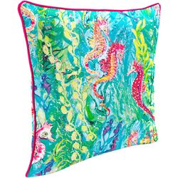 Leoma Lovegrove Sea Scouts Outdoor Decorative Pillow