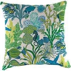 Coastal Home Manele Bay Outdoor Decorative Pillow
