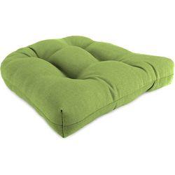 Coastal Home Husk Texture Lime Green Chair Cushion