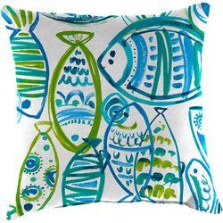 Coastal Home Cast Ocean Outdoor Decorative Pillow