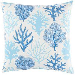 Coastal Home Coral Tide Decorative Pillow