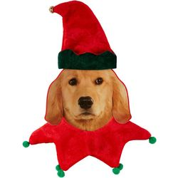 Rubie's Pet Shop Boutique Small/Medium Dog Elf Set