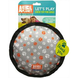 Animal Planet Large Disk Squaker Dog Chew Toy