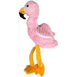 G Mason Plush Flamingo Dog Toy