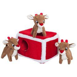 Zippy Paws Burrow Reindeer Hide & Seek Dog Toy