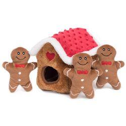 Zippy Paws Burrow Gingerbread Hide & Seek Dog
