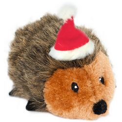 Zippy Paws Small Holiday Hedgehod Dog Toy