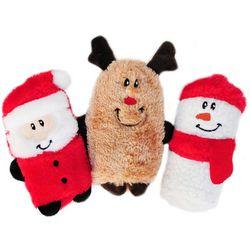 Zippy Paws 3-pc. Holiday Buddies Dog Toy Set