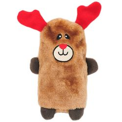Zippy Paws Colossal Buddie Reindeer Plush Dog Toy