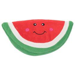Zippy Paws Watermelon Squeaky Plush Dog Toy