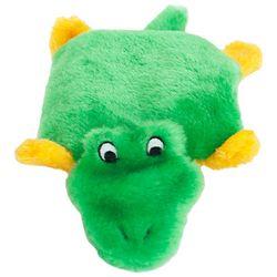 Zippy Paws Squeakie Pad Alligator Dog Toy