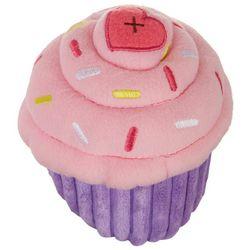 Zippy Paws Cupcake Squeaky Plush Dog Toy