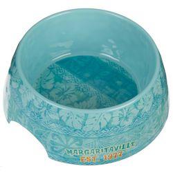 Tarhong Margaritaville Hawaiian Tropic Blue Pet Bowl