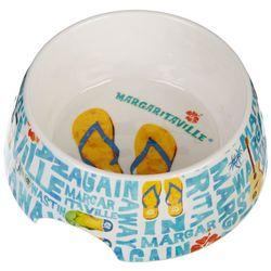 Tarhong Margaritaville Hawaiian Tropic Flip Flop Pet Bowl