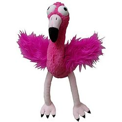 Lulubelle's Plush Flo Rida Flamingo Dog Toy